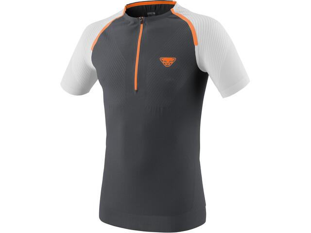 Dynafit Glockner Ultra S-Tech Koszulka do biegania z krótkim rękawem Mężczyźni szary/biały